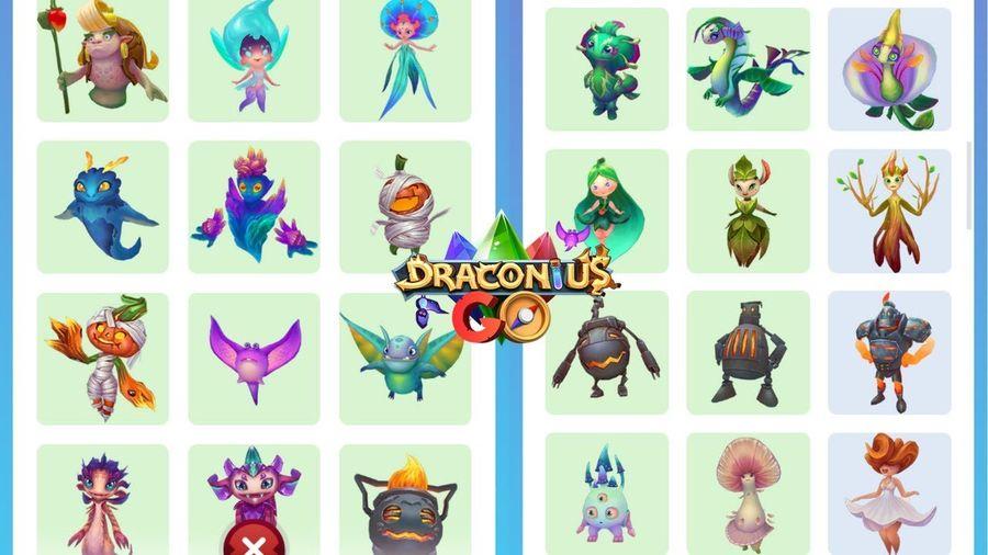Обновление бестиария существ в Draconius GO